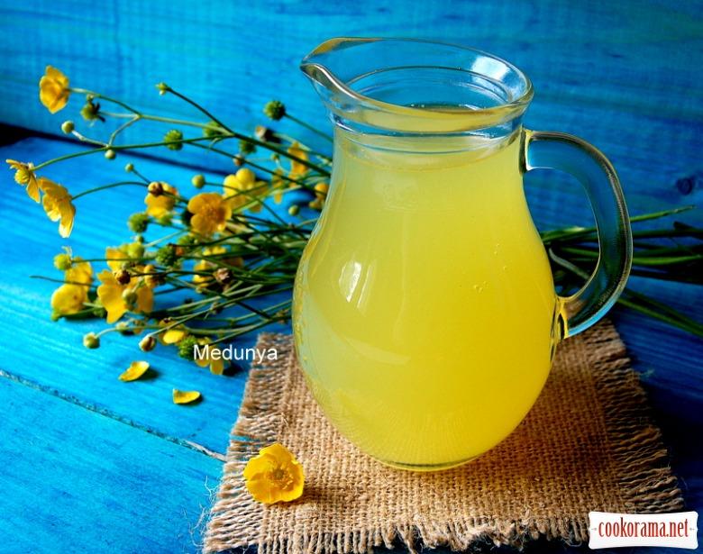 Цитрусовий напій (три цитруси - 6 літрів напою)