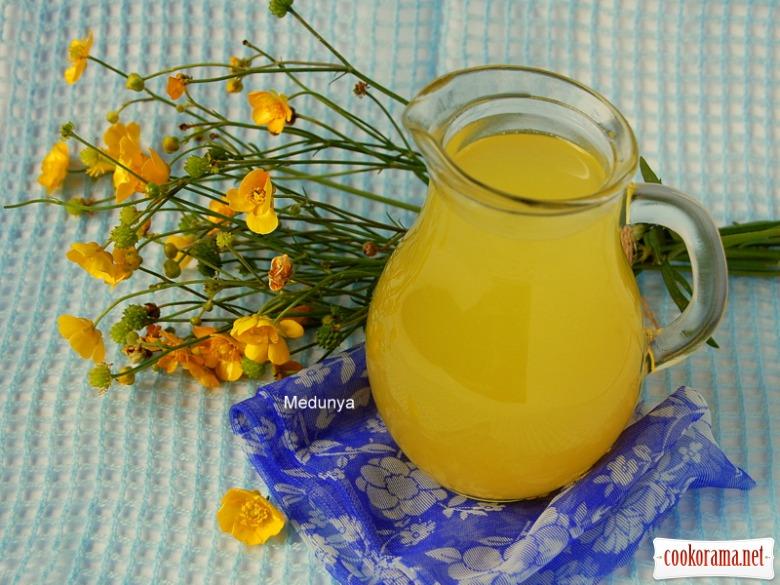 Цитрусовый напиток (три цитрусы - 6 литров напитка)
