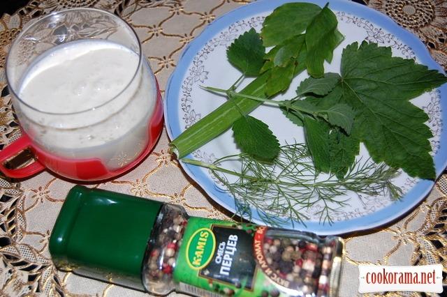 Напій «Зелене молоко»
