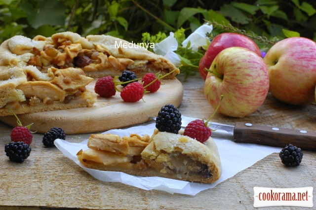 Lean apple pie