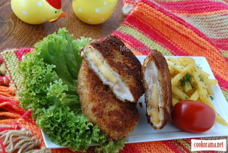 Variations of cordon bleu
