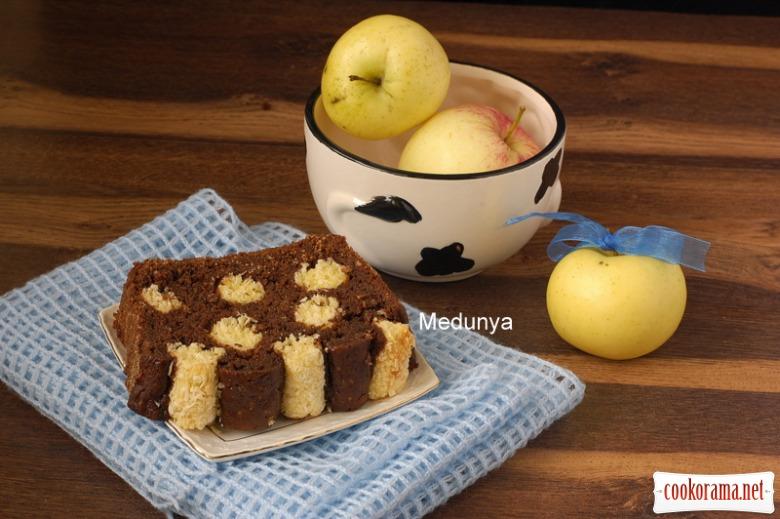 Кекс «Яблучний далматинець»