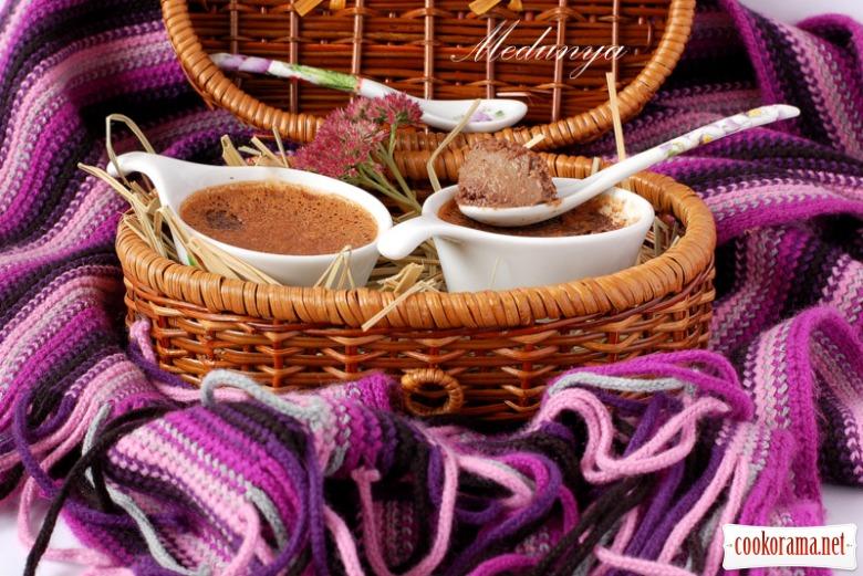 Шоколадні кремові горщики ( Pots de Creme)