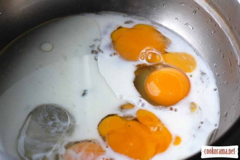 Закусочний кекс з гарбузом, маслинами і бринзою
