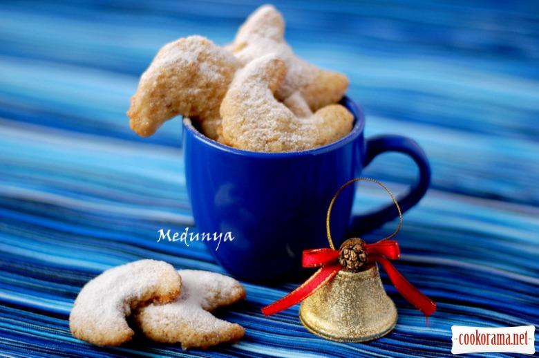 Vanillekipferl - рождественское ванильно-ореховое печенье