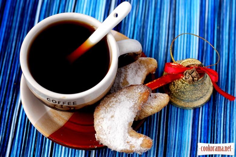 Vanillekipferl - різдвяне ванільно-горіхове печиво