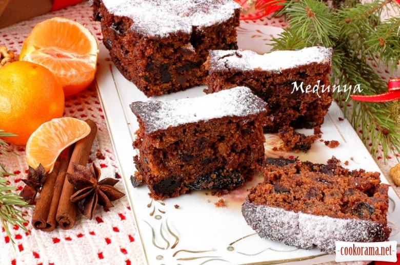 Christmas Fruit Cake - різдвяний фруктовий кекс