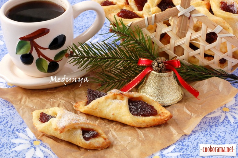 Kolaczki - польское рождественское печенье