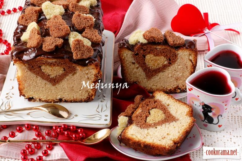 Кекс «Хмільне сердечко»