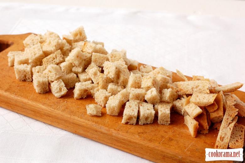 Домашні сухарики - легко,просто, смачно