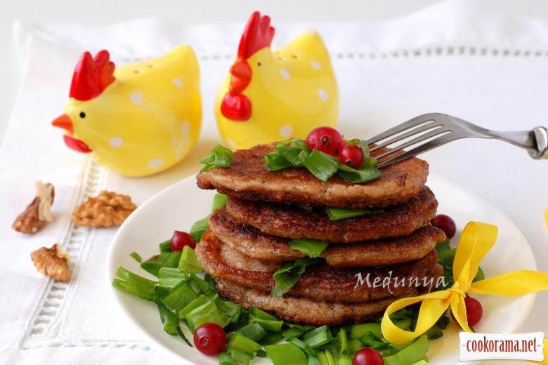 Пісні горіхово-картопляні млинчики