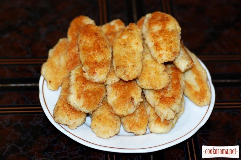 Пісні картопляно-рибні котлети