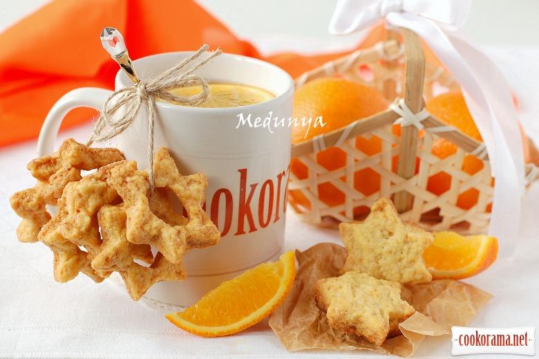 Печенье «Апельсиновые звездочки»