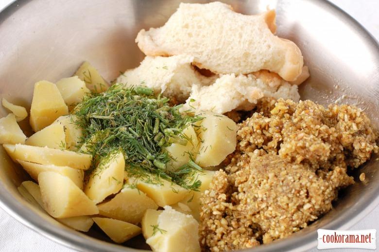 Паштет з картоплі