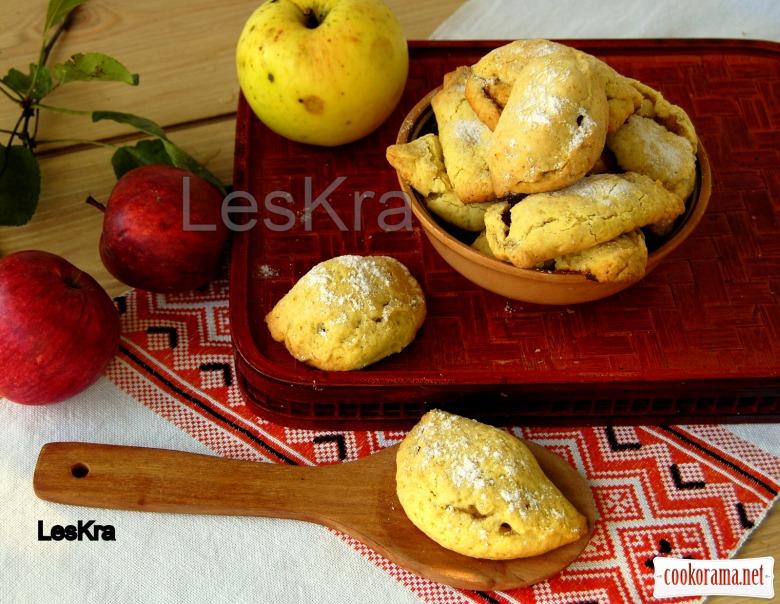 """Печенье """"Вареники с яблоками"""""""