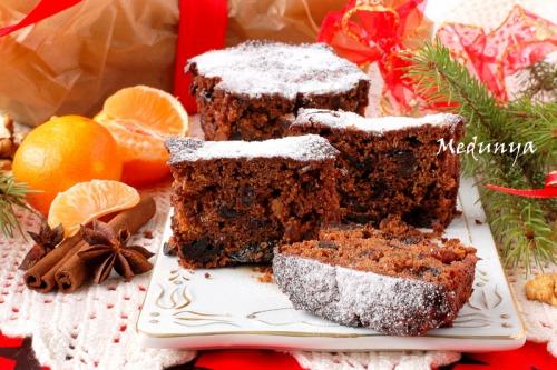 Christmas Fruit Cake - рождественский фруктовый кекс