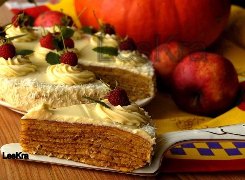 Гарбузовий тортик