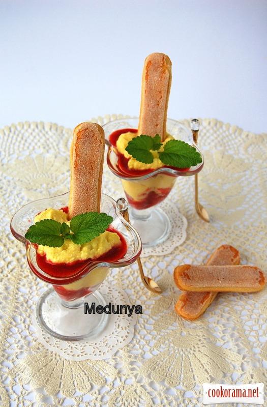 Швидкий літній десерт
