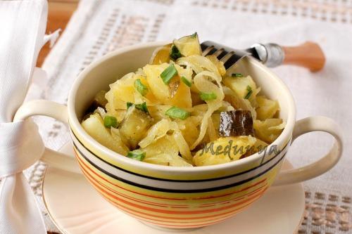 """Картофельный салат """"По-кульчицки"""""""