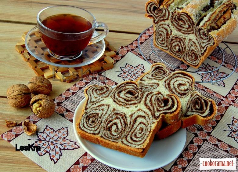 Горіхово-йогуртовий хліб