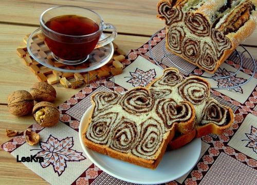 Орехово-йогуртовый хлеб