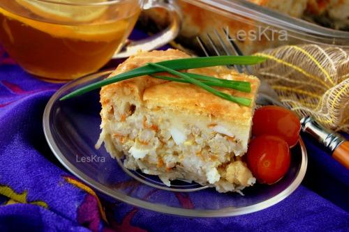 Пиріг «Сніданок рибалки»