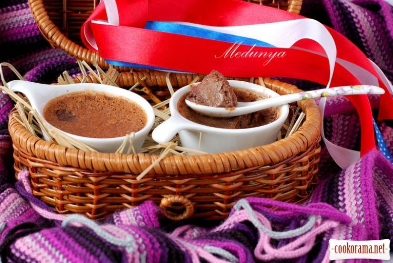 Шоколадные кремовые горшочки (Pots de Creme)