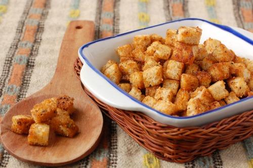 Домашні сухарики - легко, просто, смачно