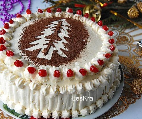 Новогодний торт за 30 минут
