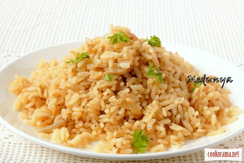Смачний рис з мультиварки