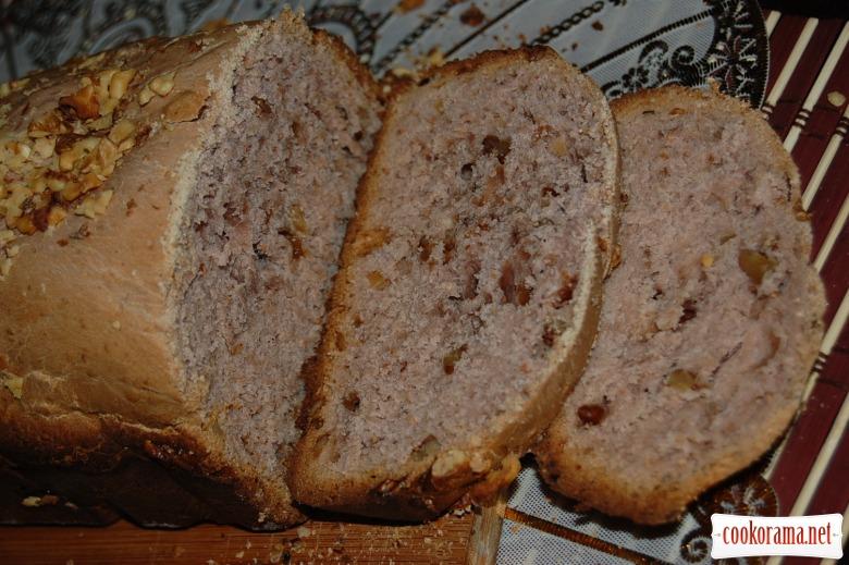 Малиновый хлеб