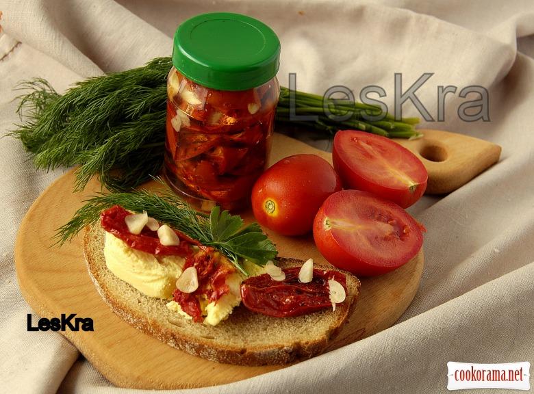 Вяленые помидоры за 25 минут