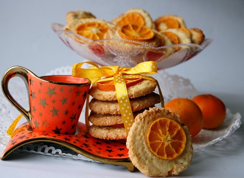 "Cookies ""Tangerine windows"""