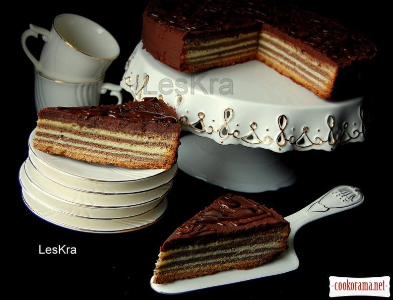 """Поцарапанный"" торт"