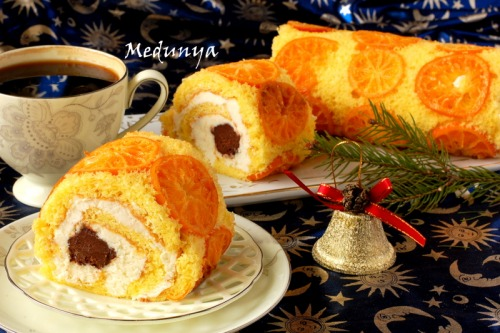 Різдвяне мандаринове поліно