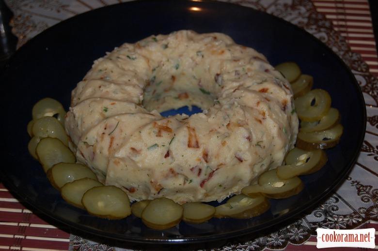 Картофельный кекс