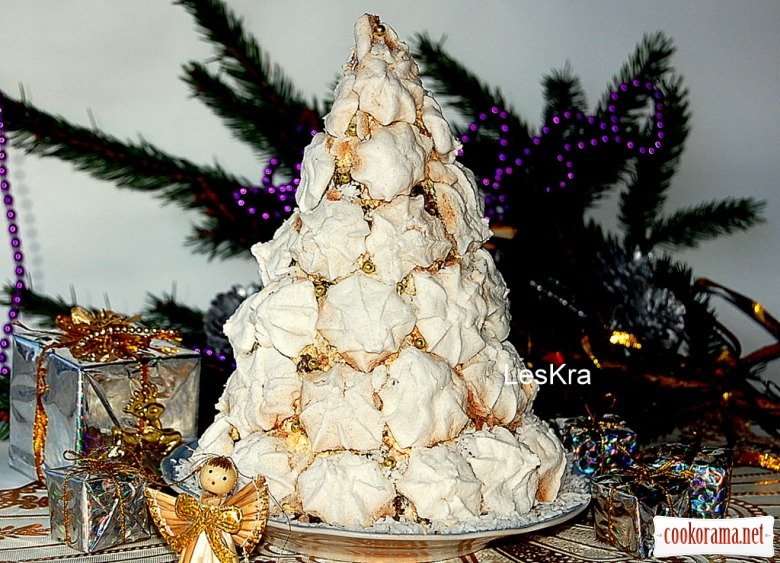 "Торт ""Різдвяна ялинка"""