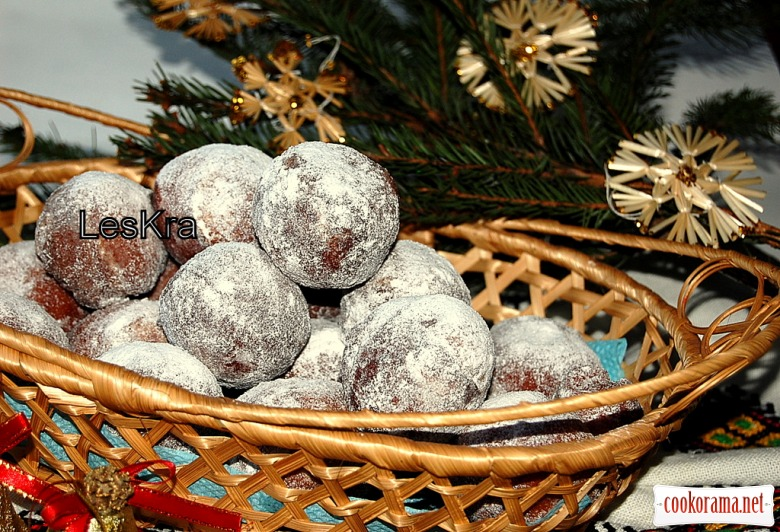 Рождественские пампушки + бонус хрустики Рождественские звезды
