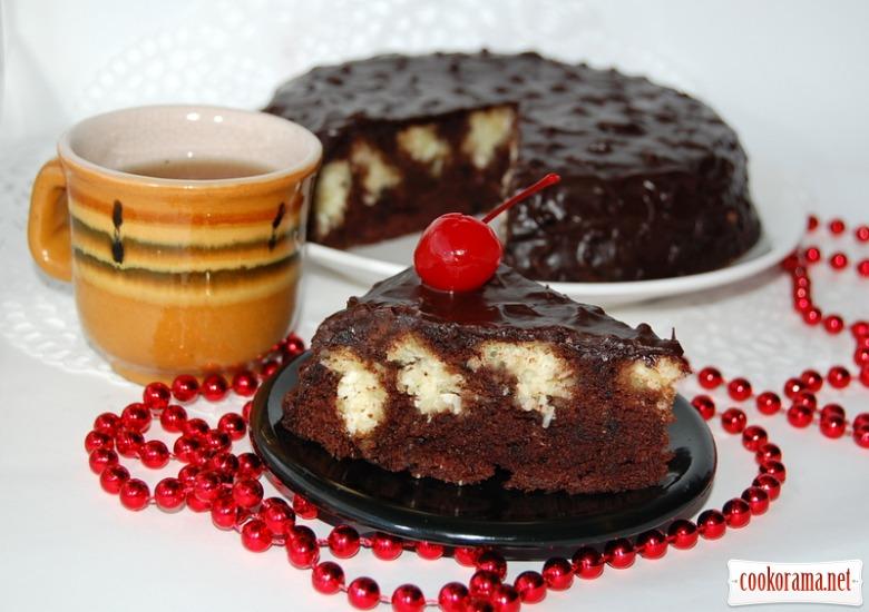 """Торт """"Коровка в шоколаде"""""""