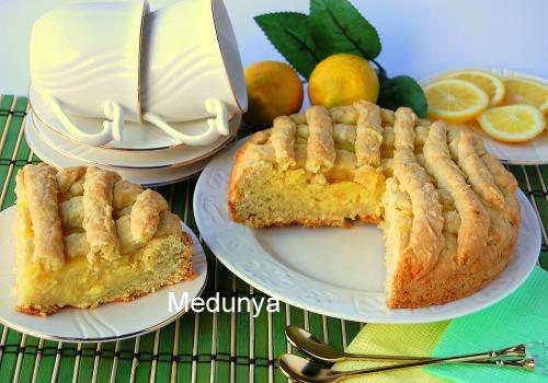 Тарт з лимонним кремом