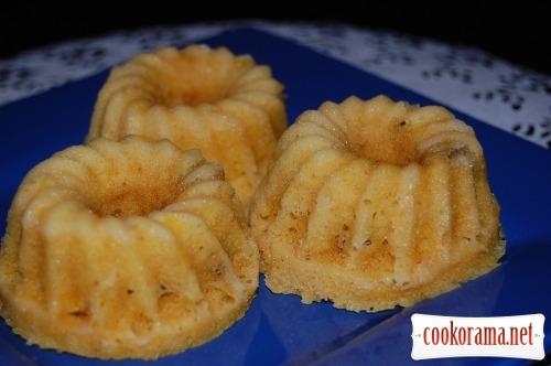 Тыквенно-апельсиновые кексы