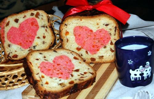 """Десертный хлеб """"МЕЛОДИЯ СЕРДЦА"""""""