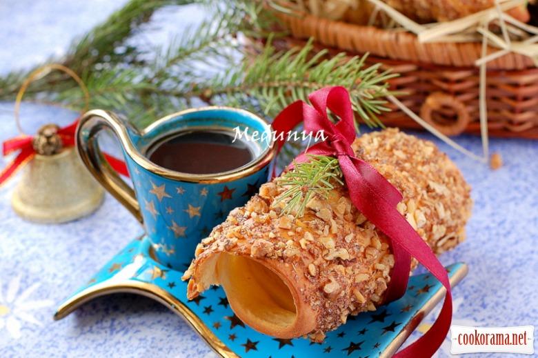 Трдельник - чеські виті булочки