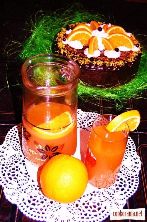 """Напиток морковно-апельсиновый """"Украинская фанта"""""""
