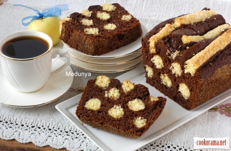 "Cake ""Apple Dalmatian"""