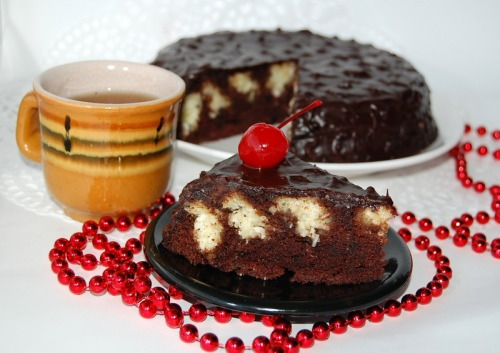 "Cake ""Chocolate cow"""