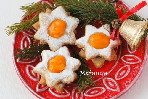 Vanocni hvezda - Czech Christmas cookies