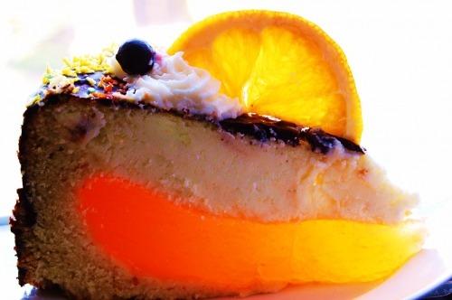"""Торт """"Апельсиновый сырник"""""""