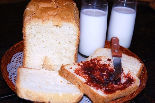 Первый хлеб из призовой хлебопечки