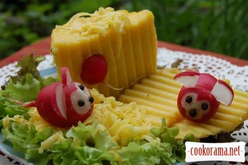 Плавлений сир по-домашньому